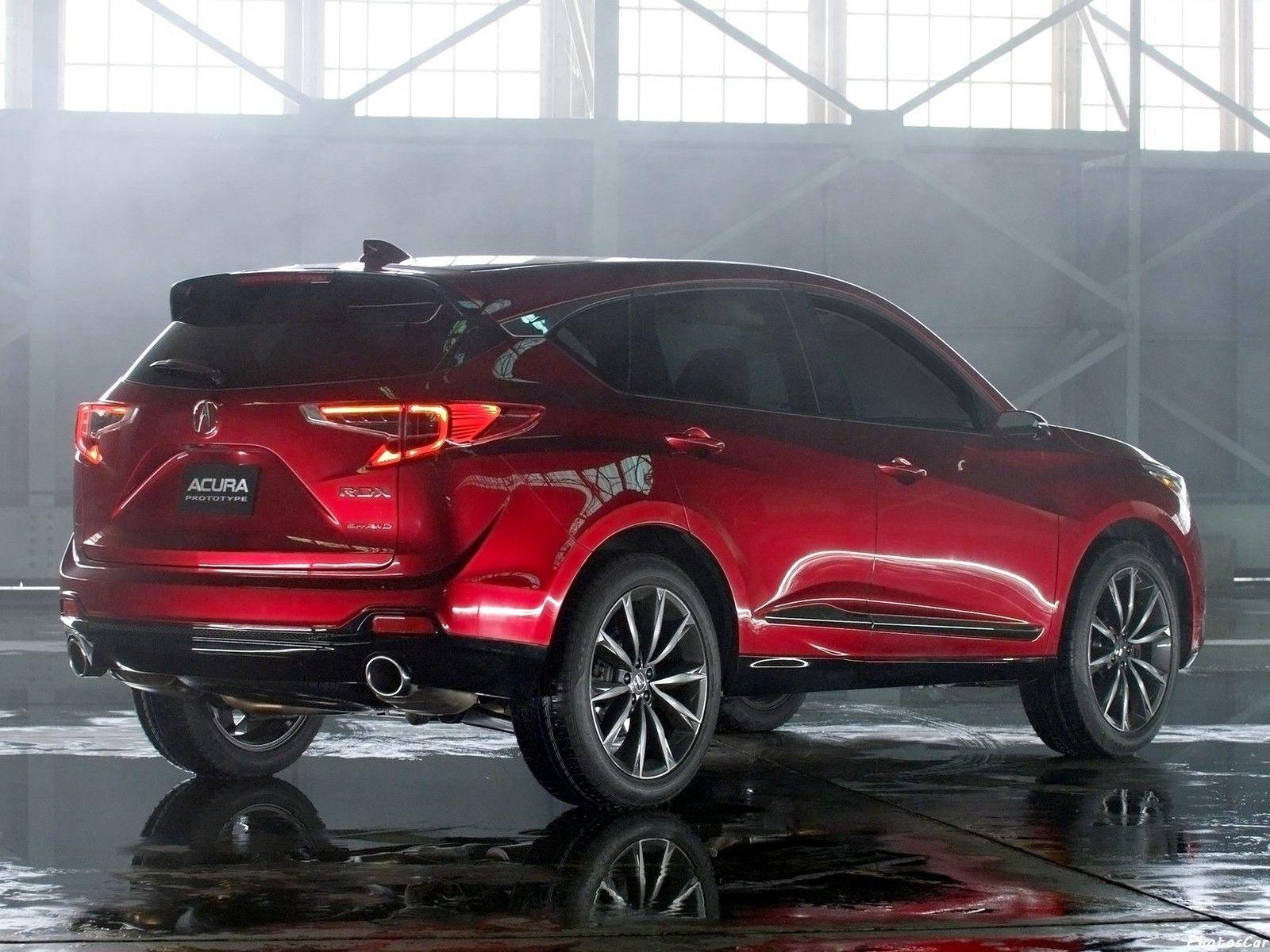 Acura Rdx Prototype Nouveau Design Inspire Et Evocateur Honda Suv