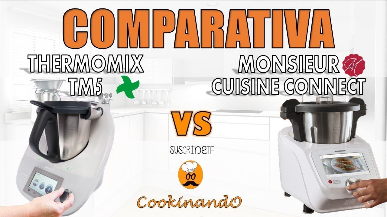 Silvercrest Lidl Cafetera Comparativa Monsieur Cuisine Connect Lidl Y Thermomix Tm5