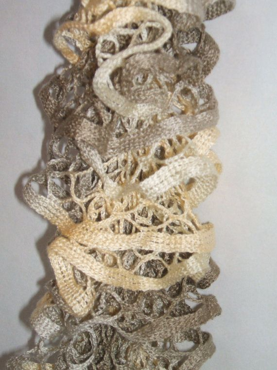 beige starbella scarf | craft addict | Pinterest