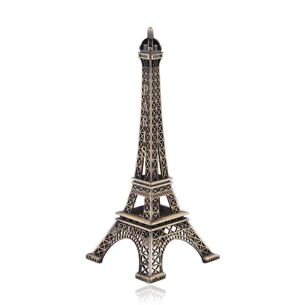 Apollo23 18cm metal paris eiffel tower craft art statue