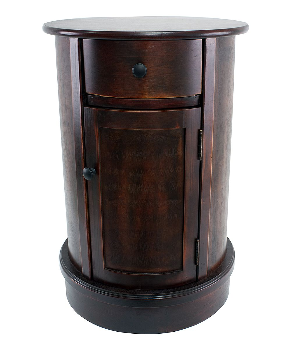 Side table with drawer  Round Cabinet Side Table  For the Home  Pinterest  Rounding