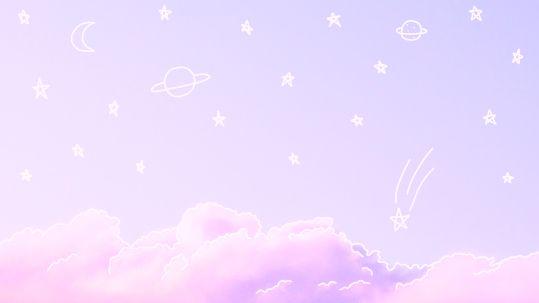 I fly with the starts in the sky's p a s t e l s