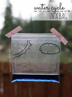 26 cool diy projects for your budding genius stem science diy stem and science ideas for kids and teens water cycle in a bag fun and easy do it yourself projects and crafts using math electronics solutioingenieria Gallery