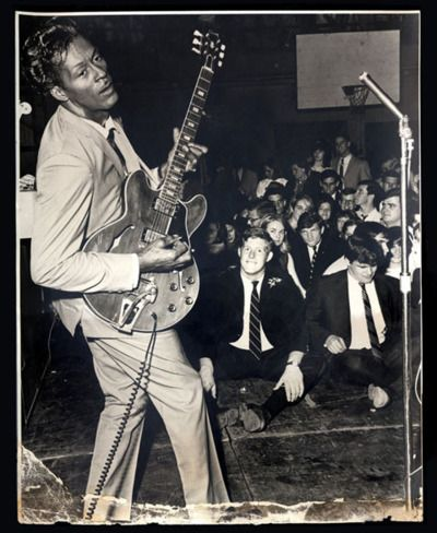 Some people think Chuck Berry is boring oldies stuff, those people are wrong - he's just the best. He's restraint and energy, Buddy Holly and punk rock all rolled into one, and when I put one of his old 78's on my turntable, that voice and guitar just jumps right out of the speakers with an immediacy and rhythmic urgency that just slays me everytime