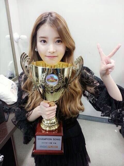 Iu Win Red Shoes Champion Korean Women