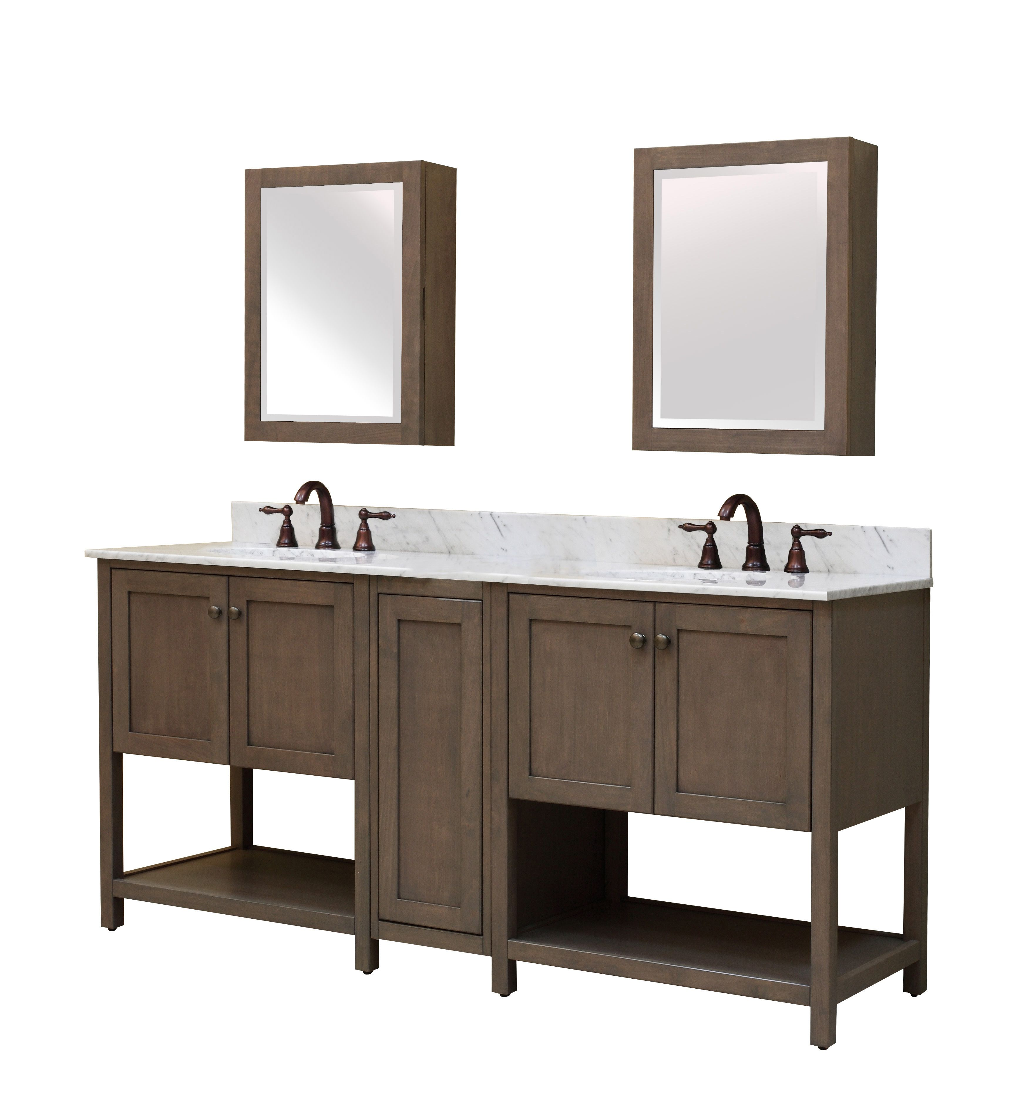 New The Aiden Modular Bath Vanity Collection From Sunny Wood 100 Water Based Designer Taupe Finish Find Out