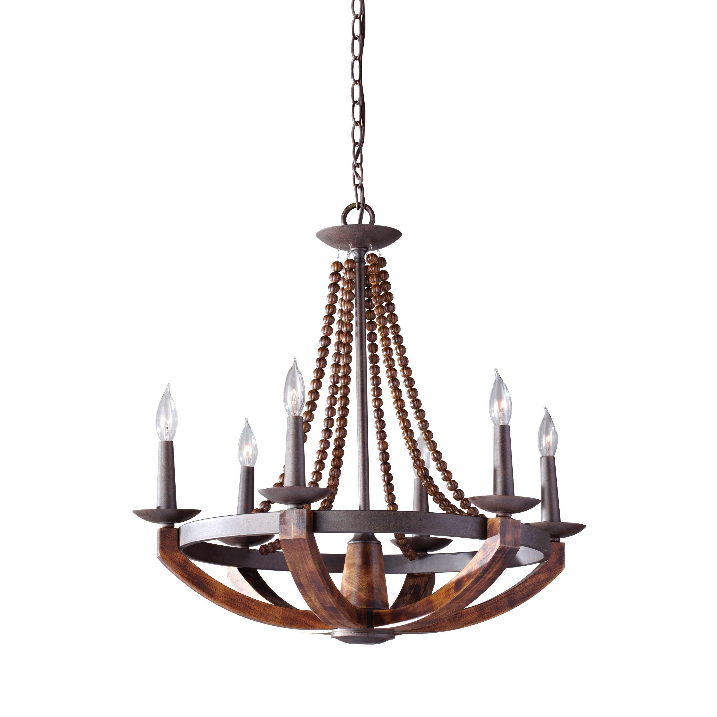 Feiss adan 6 light rustic iron burnished wood chandelier 6 feiss adan 6 light rustic iron burnished wood chandelier 6 light adan arubaitofo Gallery