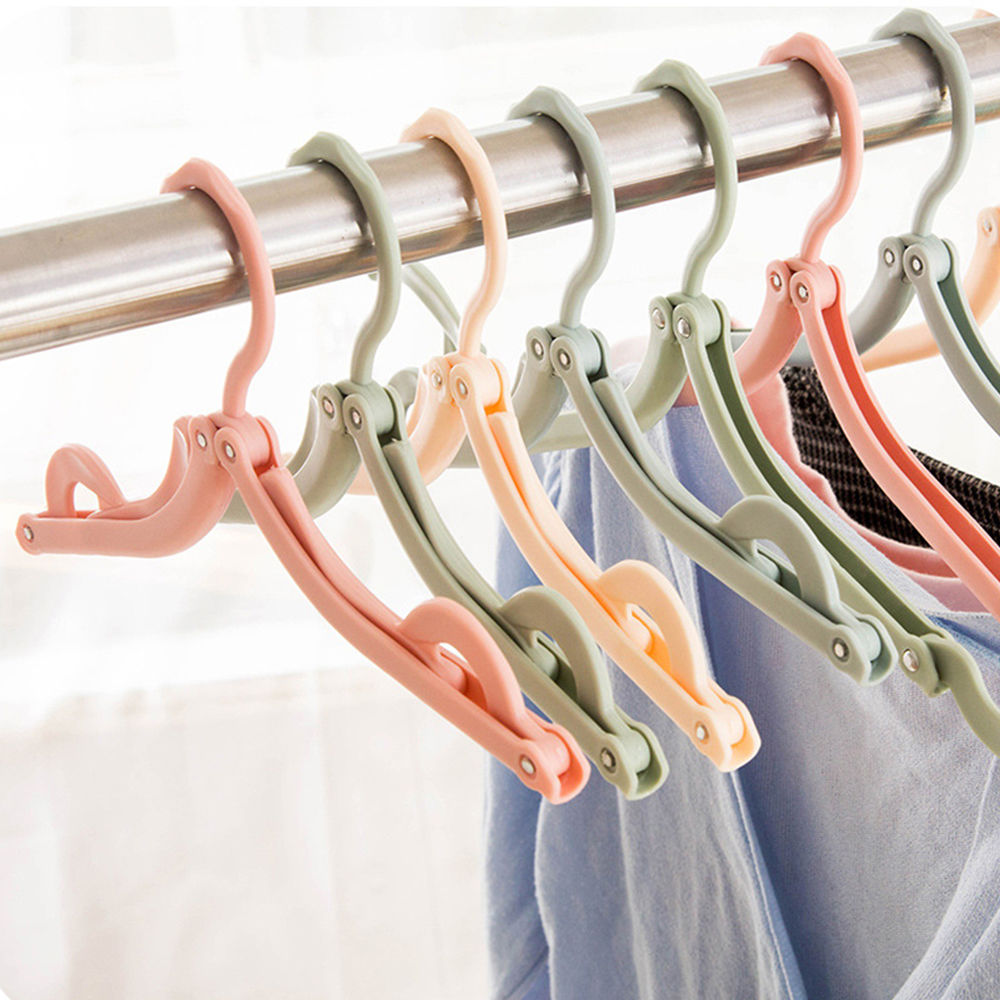 1.39 AUD Plastic Foldable Travel Clothes Hanger
