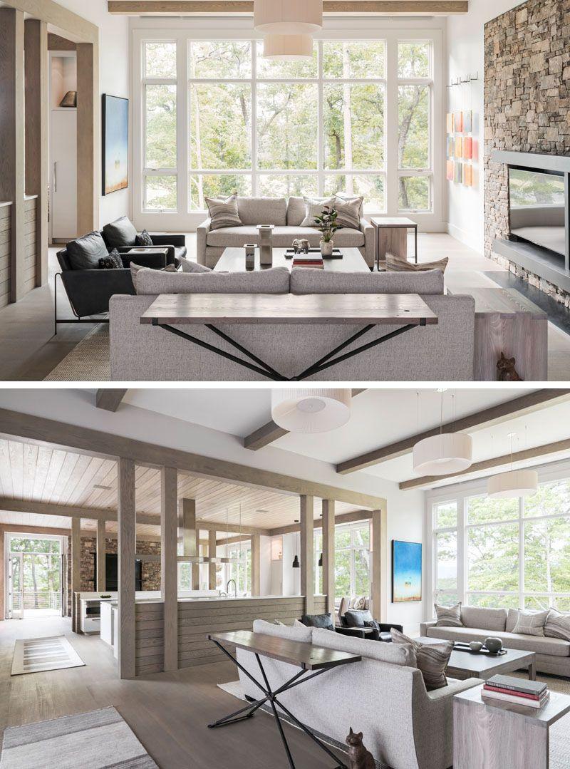 Kinderzimmer decke design samsel architects have designed a new home in north carolina thatus