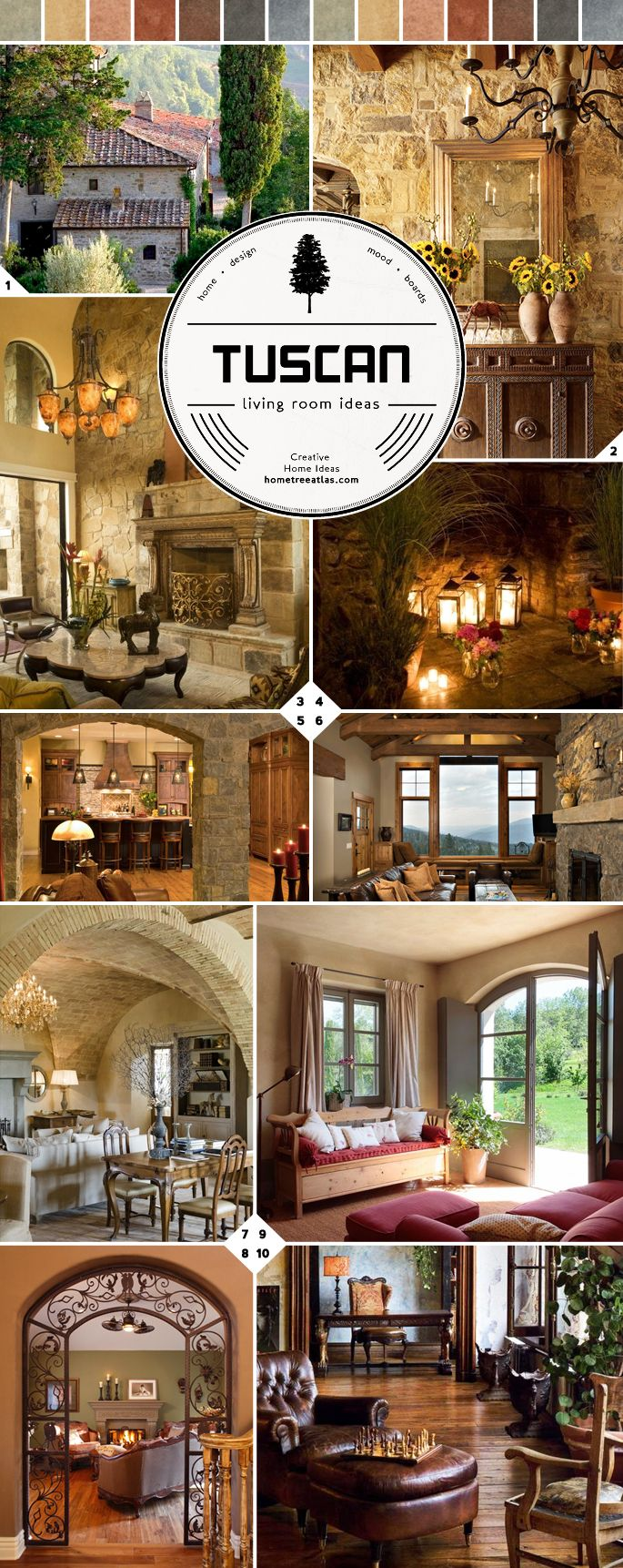 From Italy: Tuscan Living Room Ideas - Home Tree Atlas