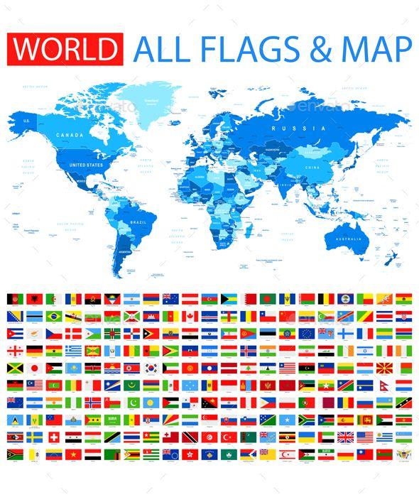 Flags Maps Russian Net