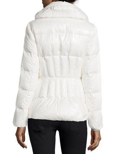 0084282eb MONCLER Joux High-Neck Puffer Jacket. #moncler #cloth #   Moncler ...