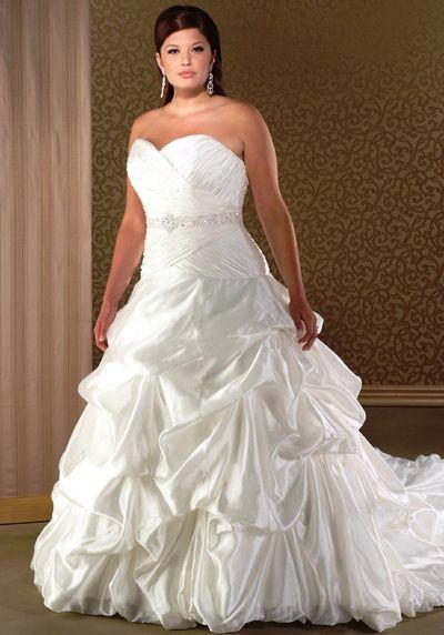 Trending wedding dress for full figured women plus size wedding dresses