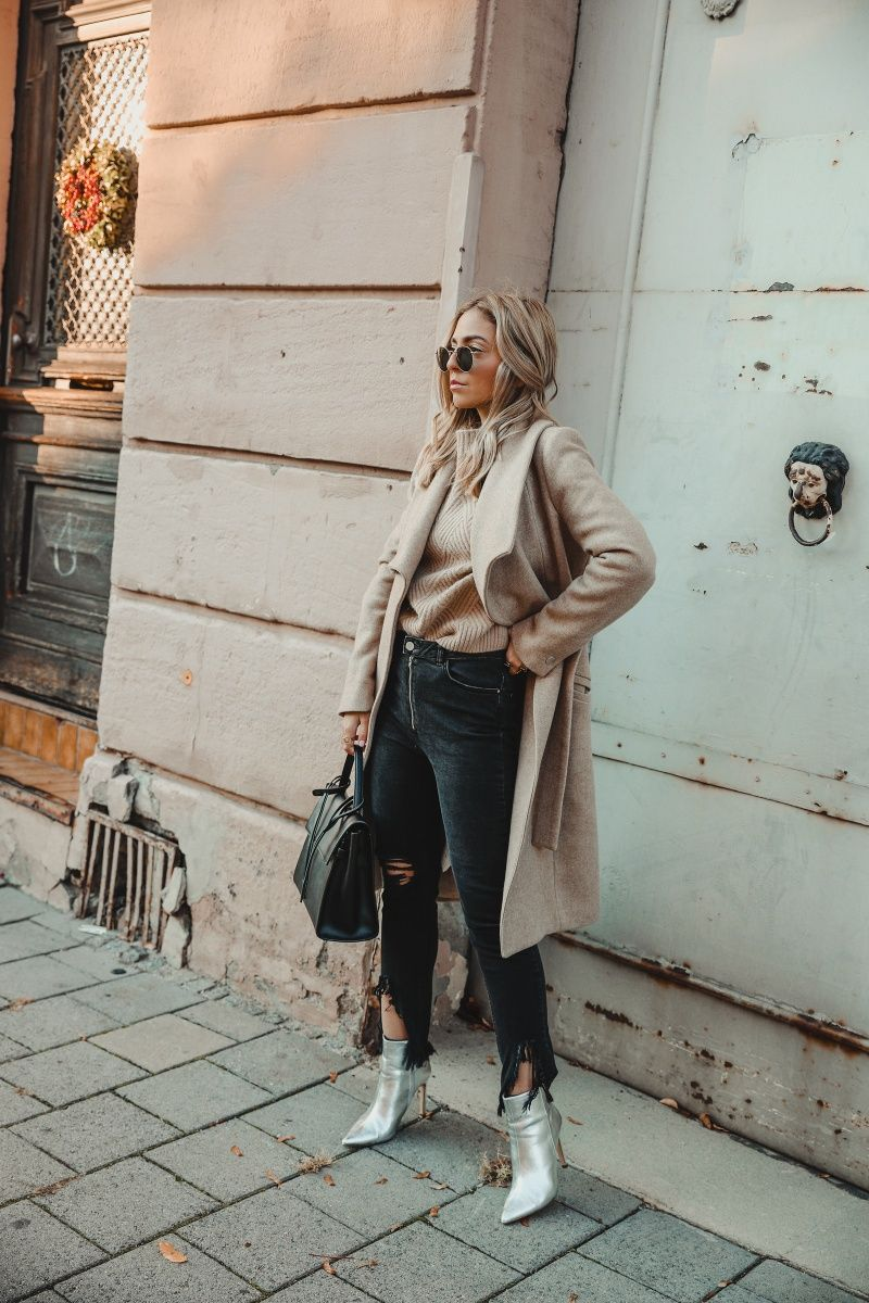20 Ways to style silver metallic boots   Want Get Repeat   Silver ...