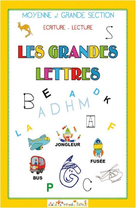 Couverture Du Livre Sur Les Grandes Lettres L Lecture