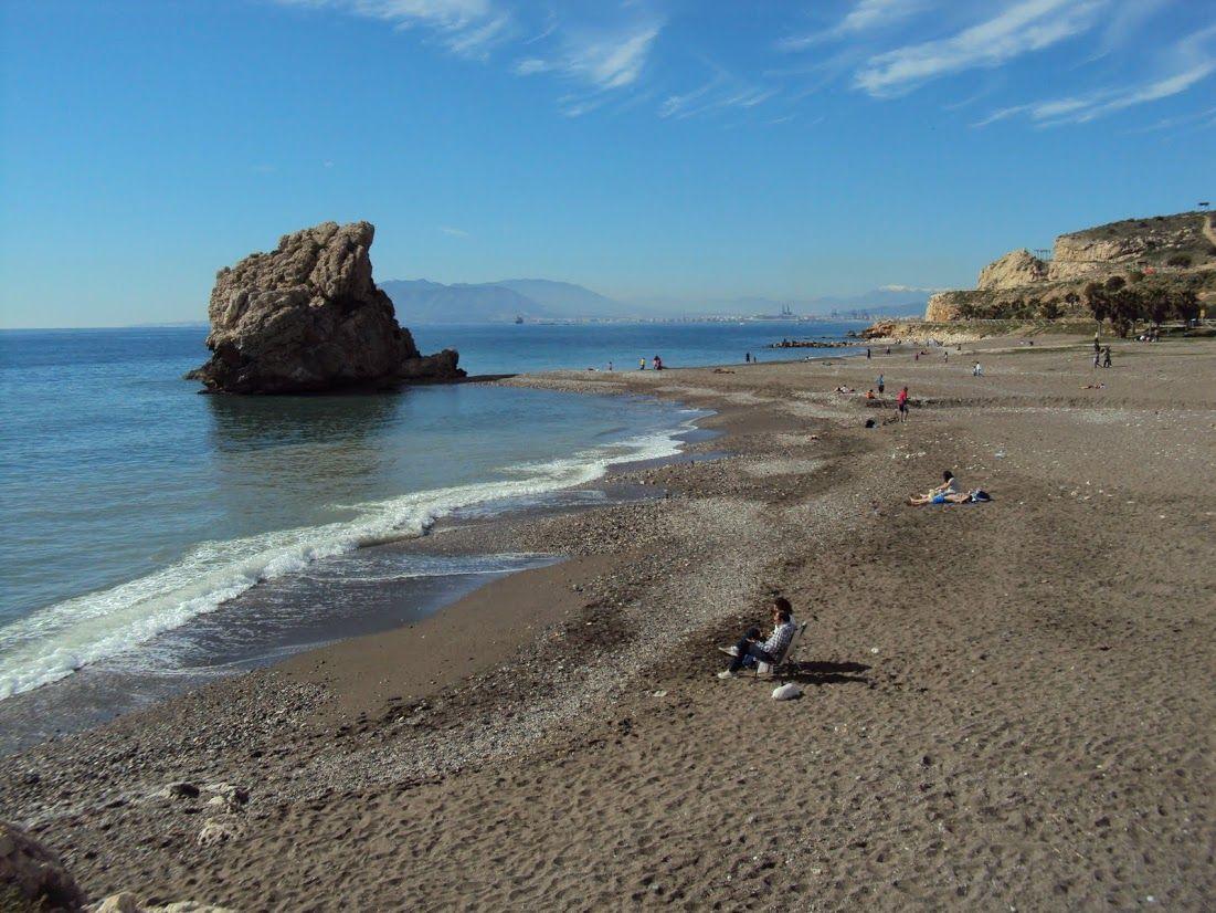 El Peñón del Cuervo Beach, Malaga (Andalusia, Spain)
