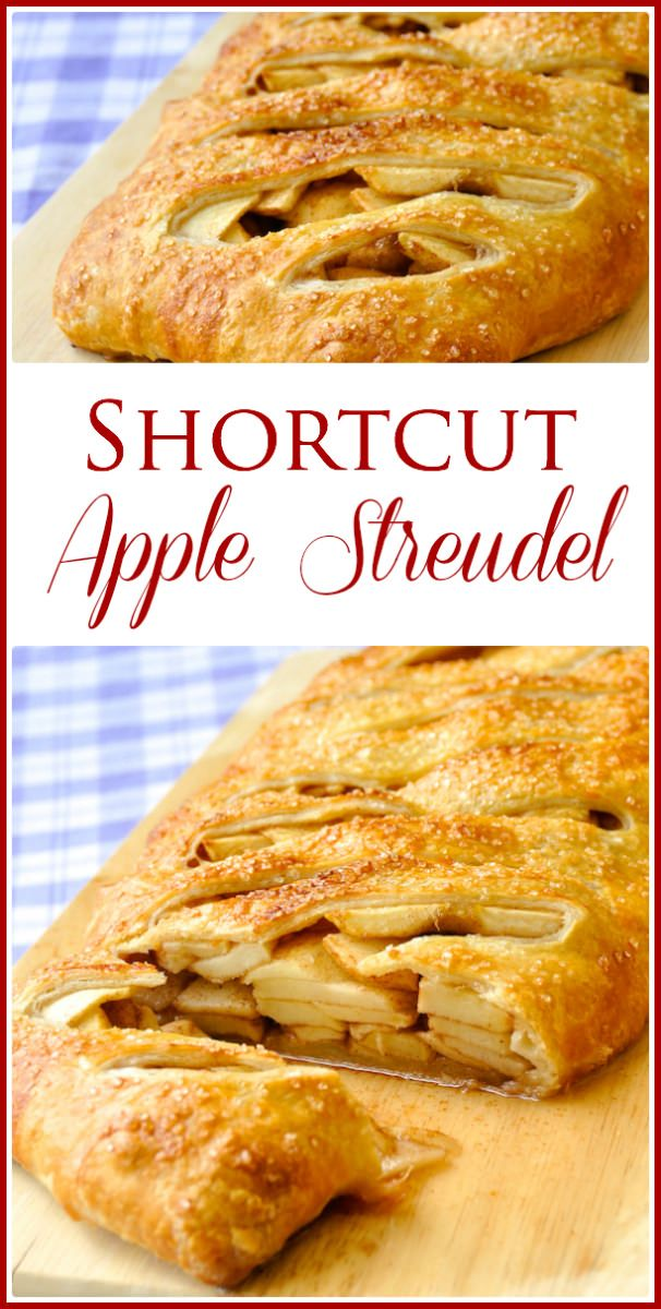 Shortcut Apple Strudel - Rock Recipes