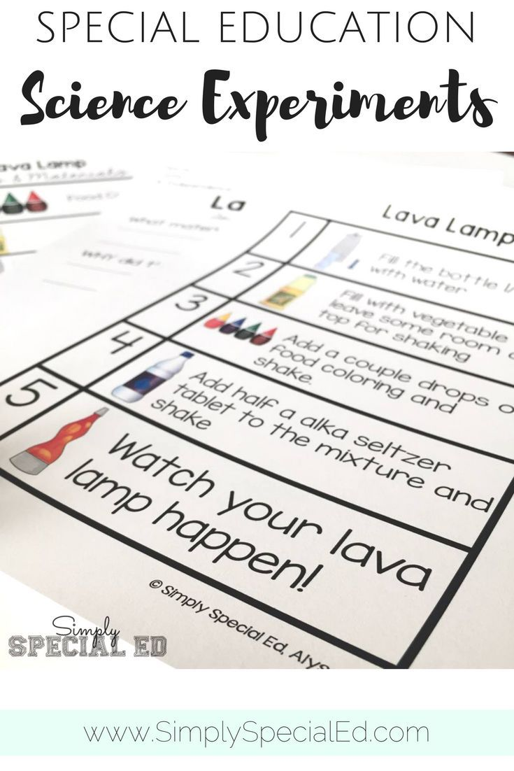 worksheet Lava Lamp Experiment Worksheet simple science experiments for special education classrooms