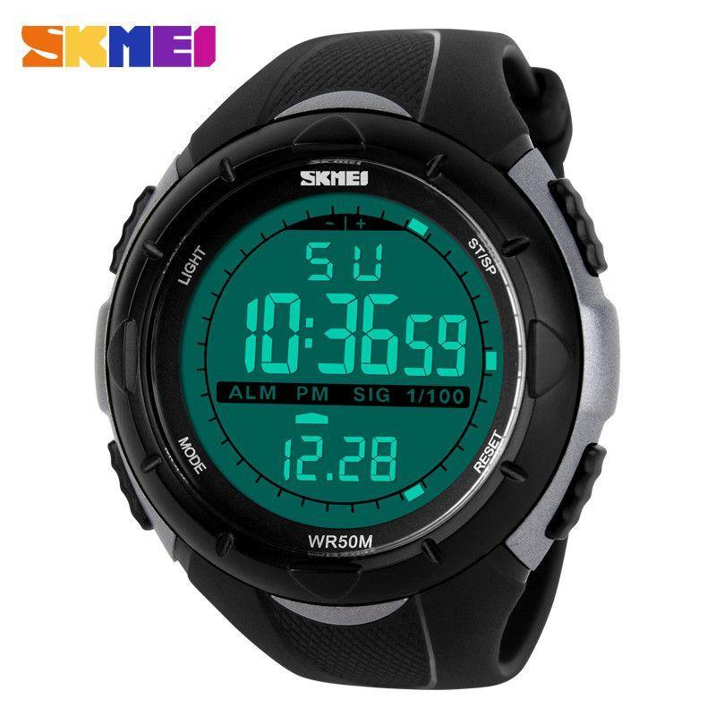 e0679669b9d SKMEI Brand Men Sports Watches LED Digital Watch Fashion Outdoor Waterproof  Military Men s Wristwatches Relogios Masculinos