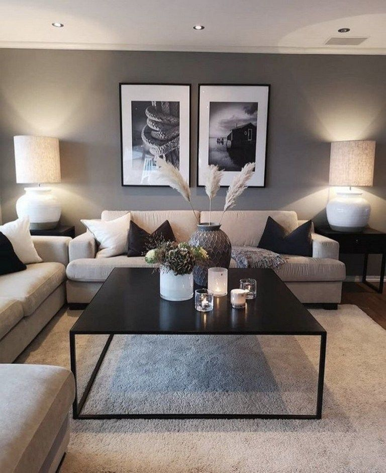 Photo of ✔85 inspiring apartment living room decorating ideas 1 » Interior Design#apar…