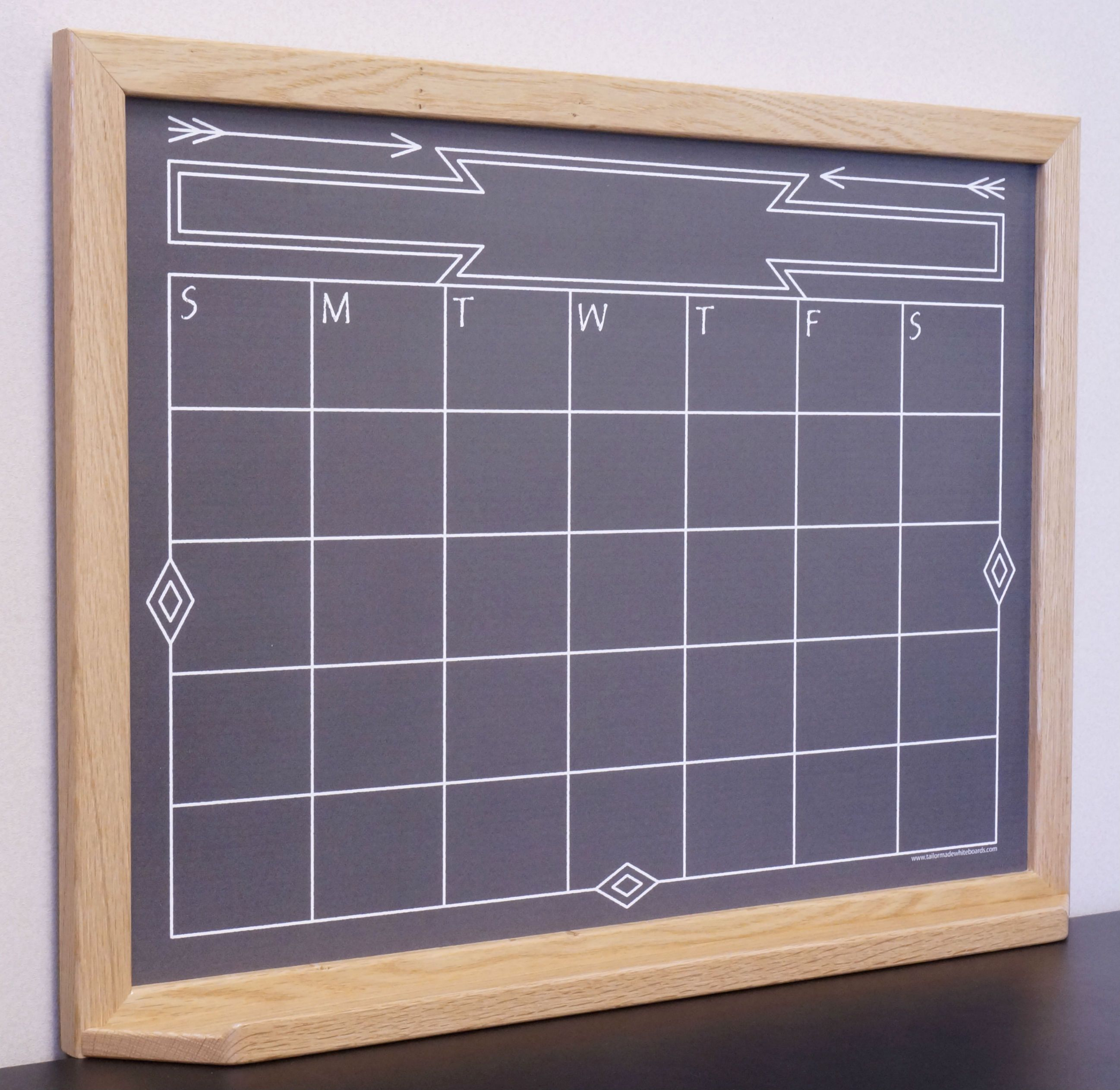 Our Framed Monthly Calendar Whiteboards Will Look Great