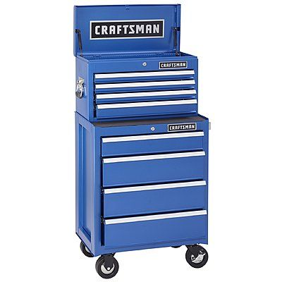 Pin By Sarah Luna On The Shop Fixtures Organization Craftsman Tools Chest Cool Tools Sears Craftsman