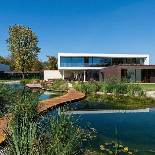 Outstanding Modern Villa designed by ©Oliver Grigíc located in Cepin, Croatia!!