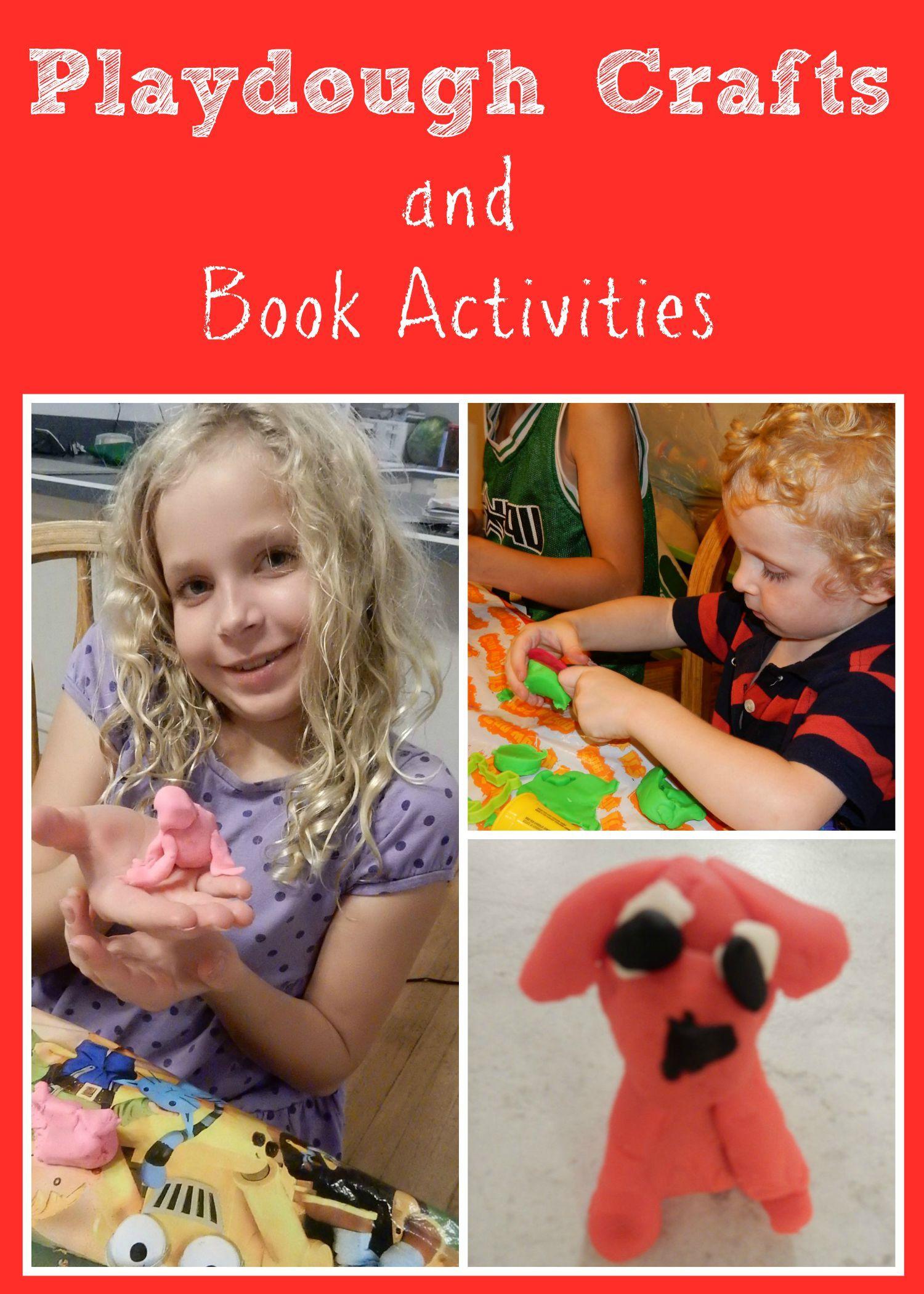 Playdough Crafts And Book Activities Hands On Crafty Fun