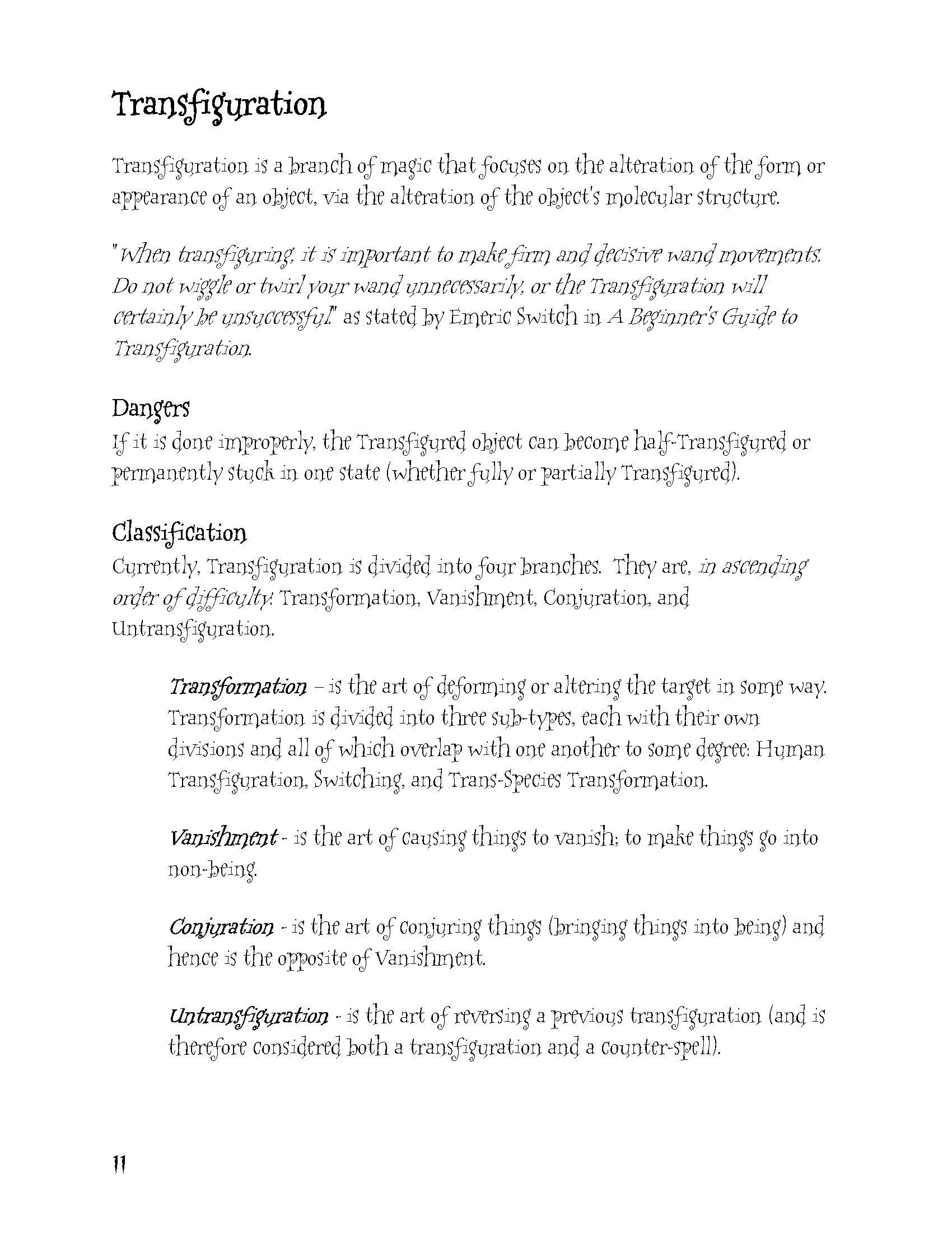 Harry Potter Summary Worksheet