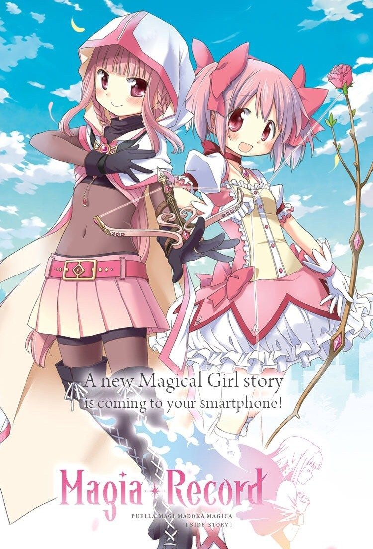 Magia Record Game Unveils New Magical Girl Magical Girl