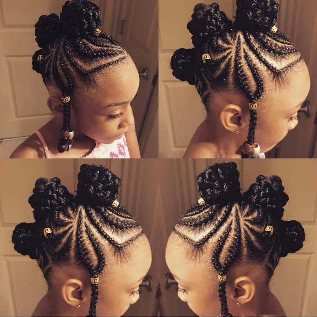 Coiffure Tresse Pour Fillette 14 Fulani Braids Styles To Try Out Soon Lil Gurls Do
