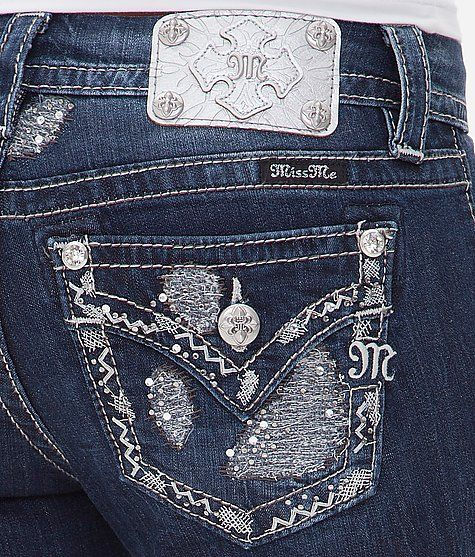 Miss Me Boot Stretch Jean- Just got these
