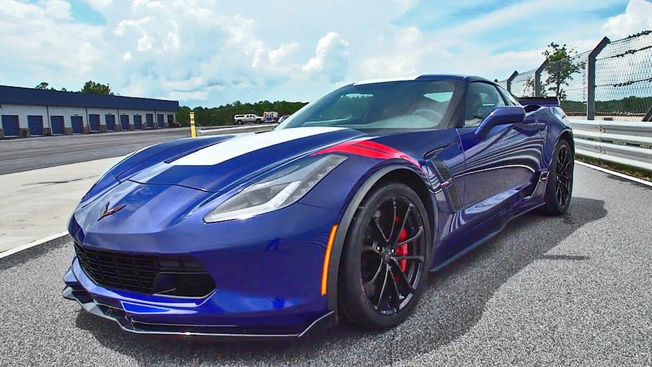 NEW 2017 Corvette Grand Sport Footage Corvette grand