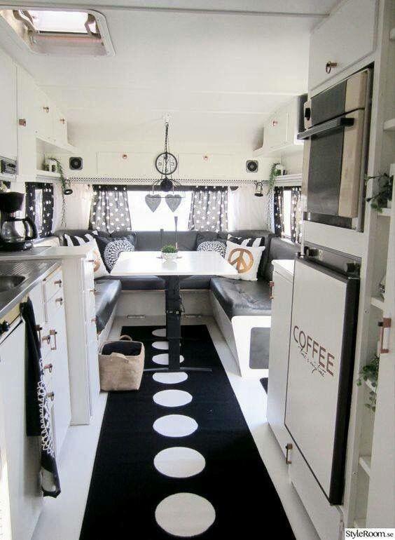 wohnwagen retro caravan camperbusje camper interieur camper viajes dromen