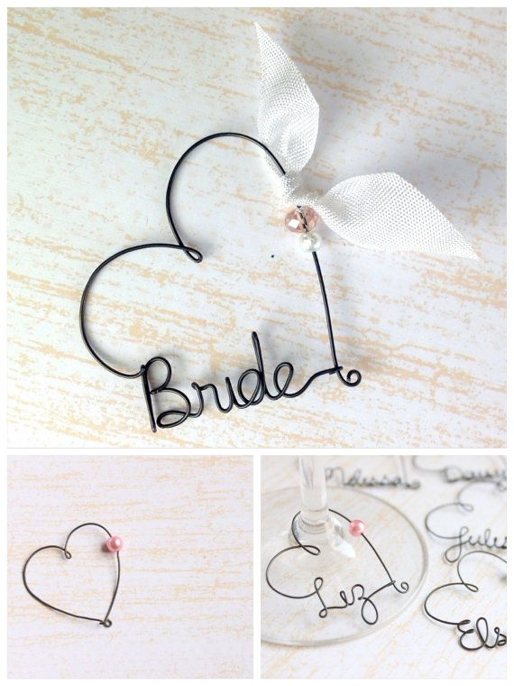 Personalized Bridesmaid Gift Bridal Shower Party Favors Bridal