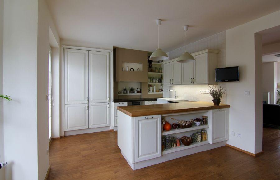 Kuchyne Provence rustikalni vanilka Kuchyňkitchen Pinterest - sockelleisten für küchen