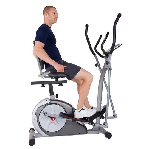 Body Rider 3 In 1 Elliptical Recumbent Upright Bike Trio Trainer No Equipment Workout Home Workout Equipment Biking Workout
