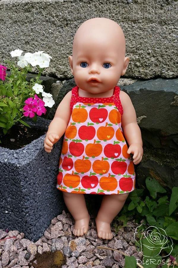 Puppenlöwenzahn Kleid Add-On