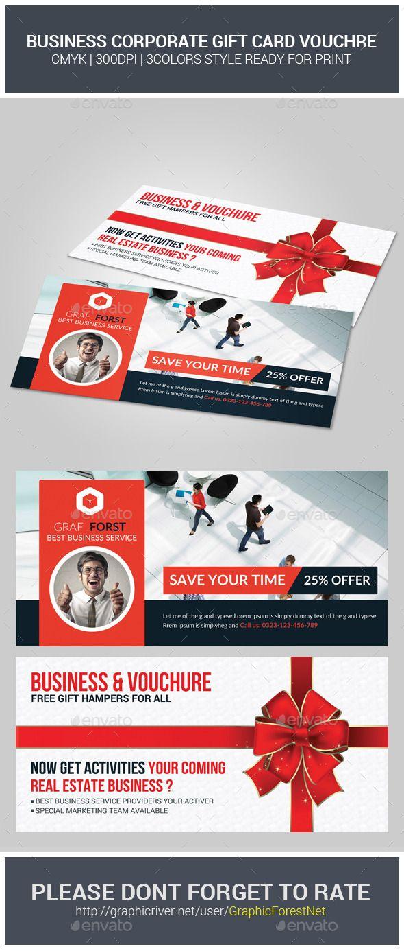Business Gift Card Voucher   Fonts-logos-icons   Pinterest   Print ...