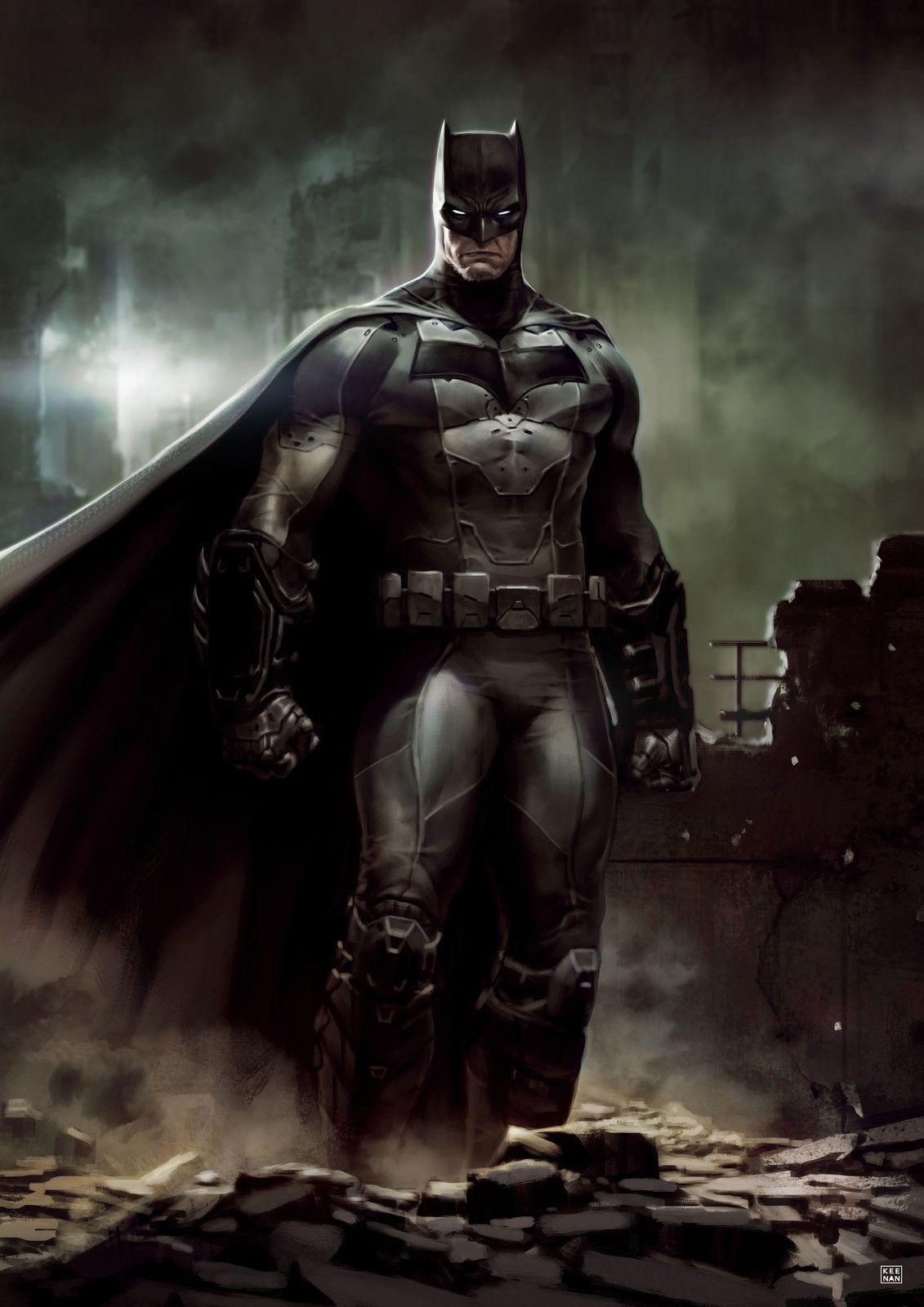 The Dark Knight: Gotham's Doom, Dave Keenan on ArtStation at https://www.artstation.com/artwork/1BwG2