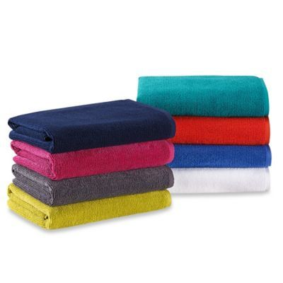 Buy Anthology Solid Piece Dyed Bath Towel In White From Bed Bath