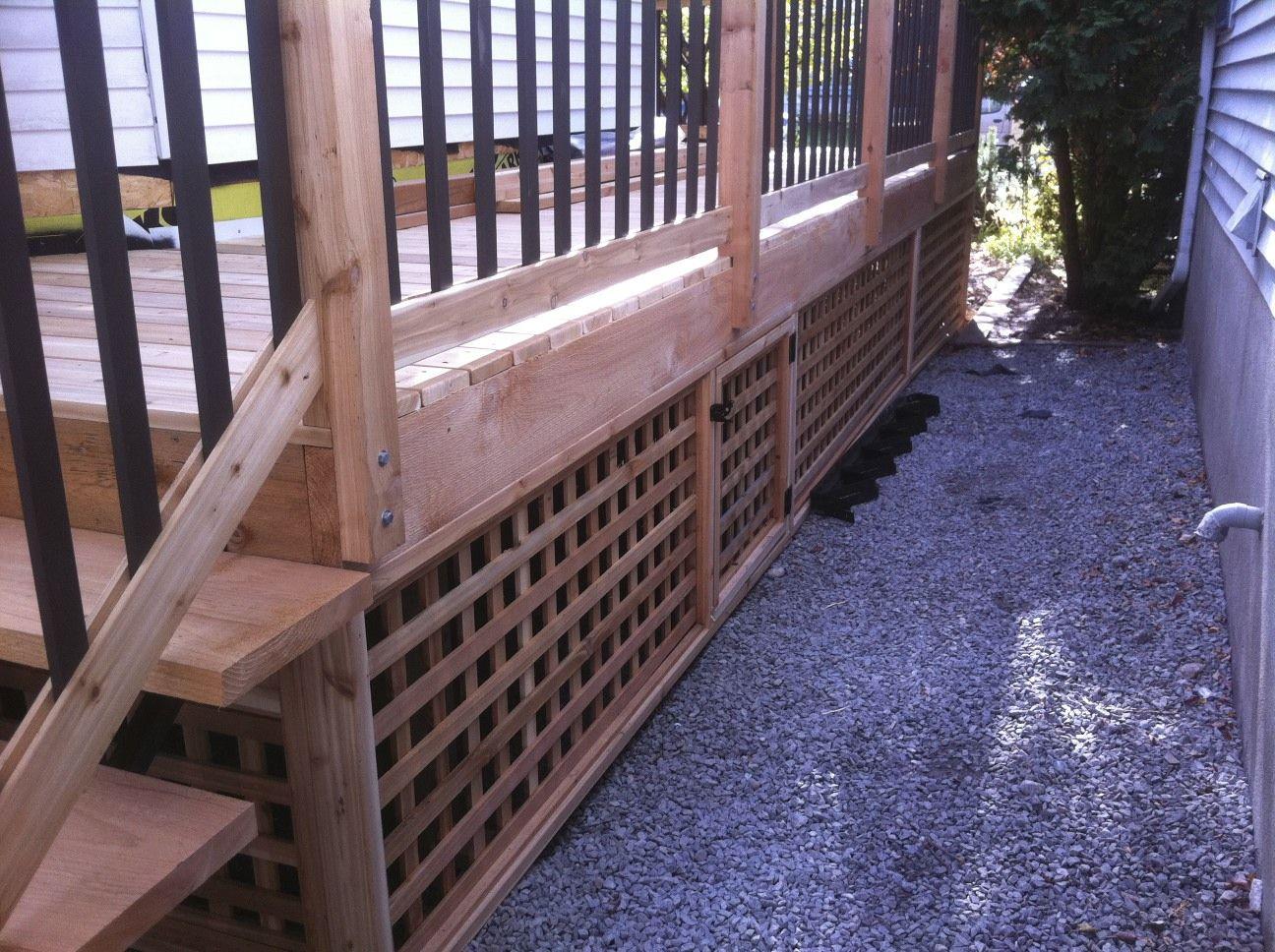 Cedar Deck Cool Deck Patio Stones Deck Builders