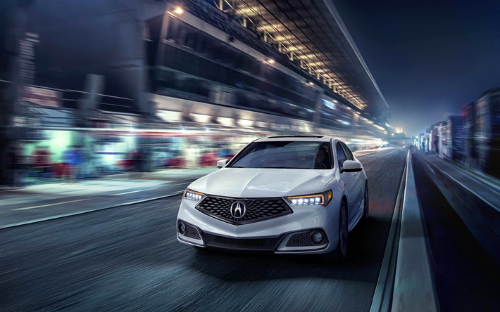 download wallpapers acura tlx a spec night 2018 cars movement rh pinterest com