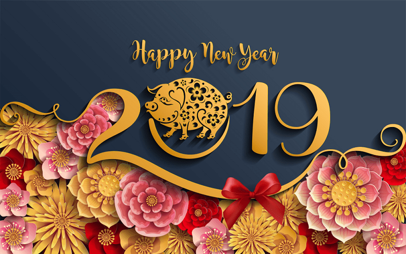 Advance Happy New Year New year greeting cards, Chinese