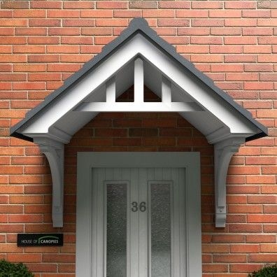 Traditional Door Canopies - Maintenance Free & Traditional Door Canopies - Maintenance Free   linda front doors ...