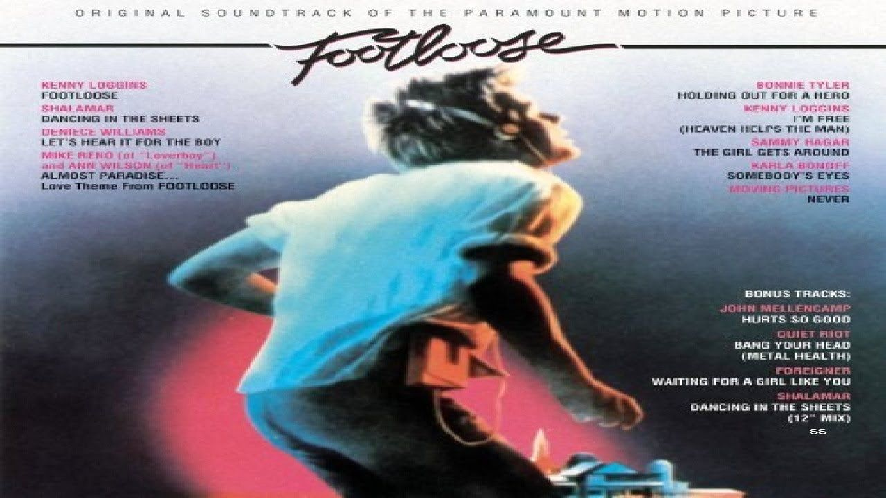 Sammy Hagar The Girl Gets Around From The Soundtrack Footloose Remastered Hq Kenny Loggins Movie Soundtracks Footloose Movie
