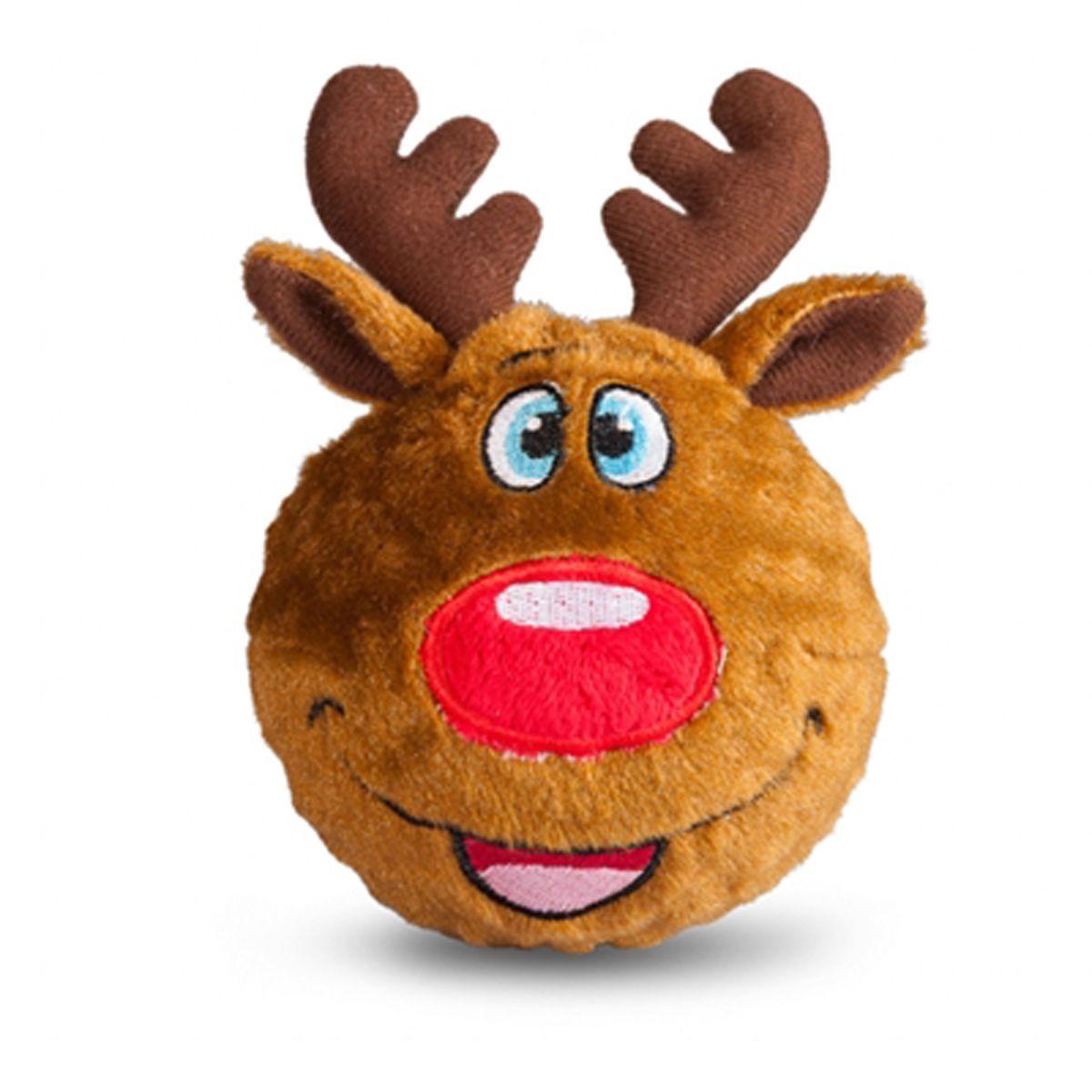 Holiday Faballs Dog Toy Reindeer Dog toys, Christmas