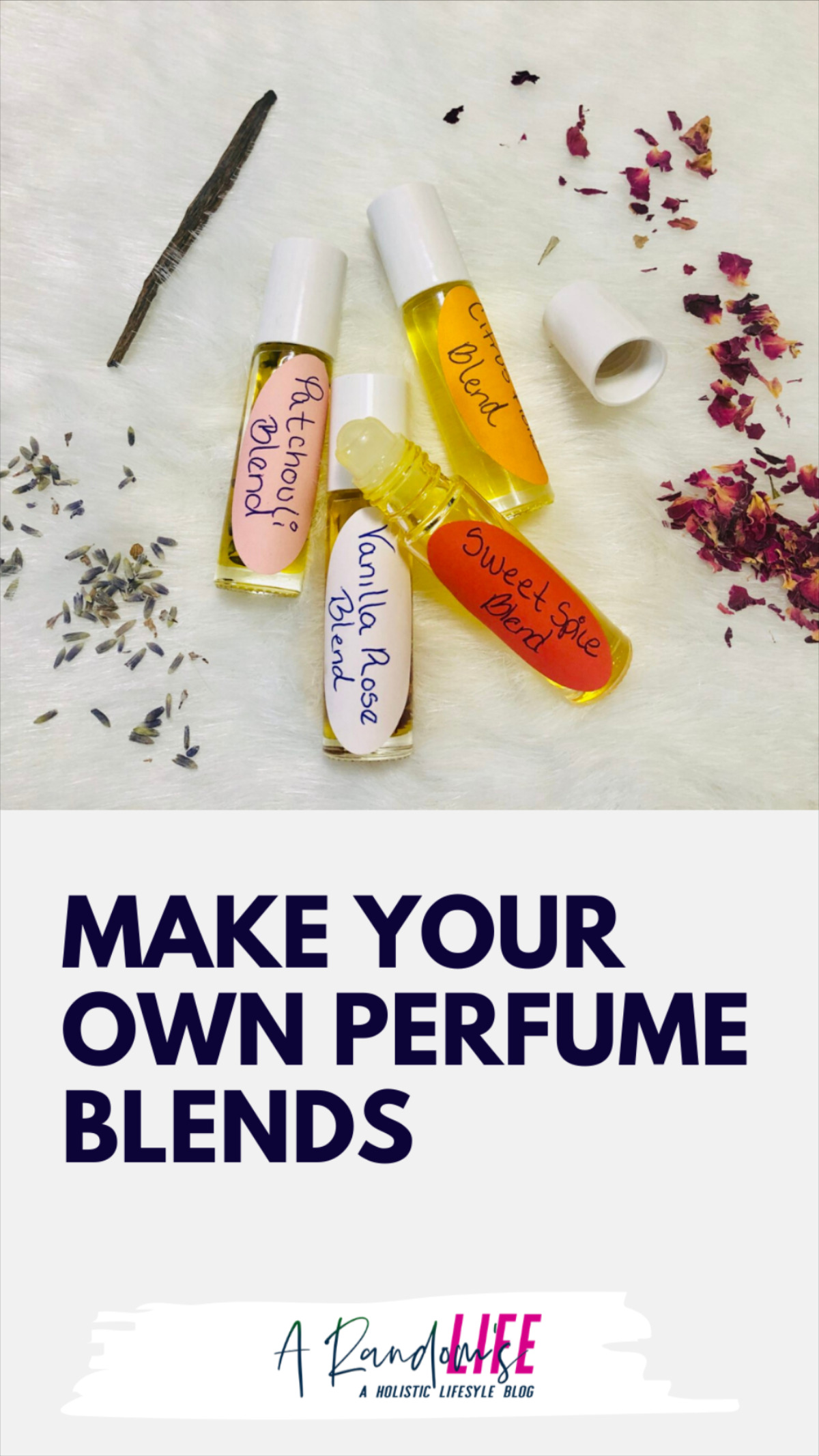 Make Your Own Perfume Blends
