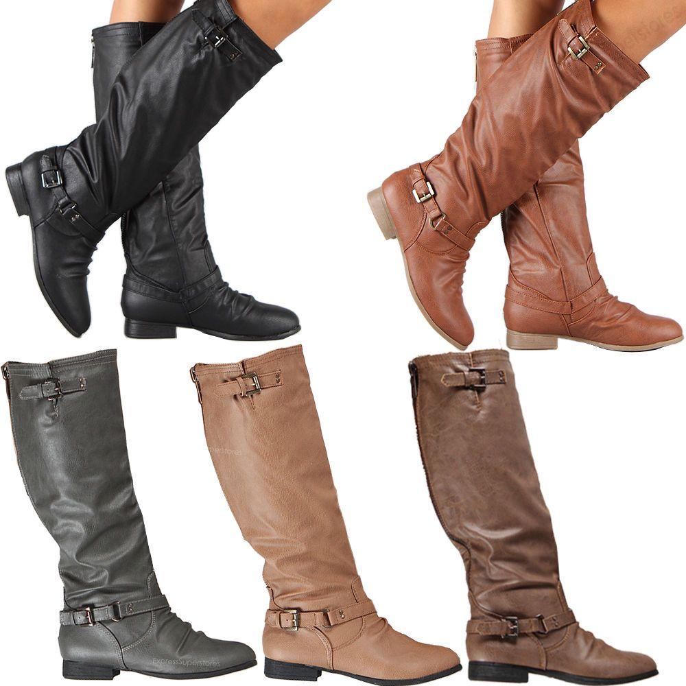 Stylish ladies riding boots