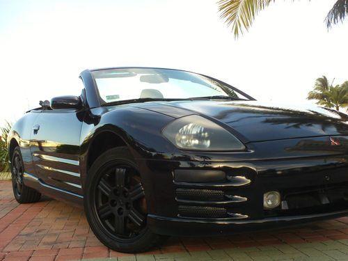 2001 mitsubishi eclipse spyder gt convertible 30l